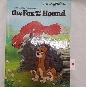 Disney's  Golden Pop Up book Fox & Hound